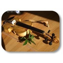 violon végétal 4/4 teinte naturelle feuille de menthe