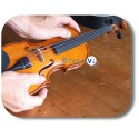 Petit violon taille 1/10 en bois pour enfant 3 ans