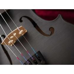 violon 4/4 coloris noir mat haut de gamme cordes nylon