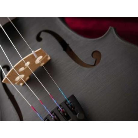violon 4/4 noir brillant haut de gamme cordes nylon