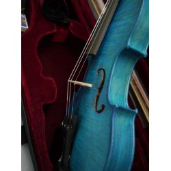 violon 4/4 bleu haut de gamme cordes nylon