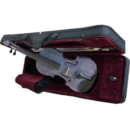 violon 4/4 violet en étui rectangulaire & archet