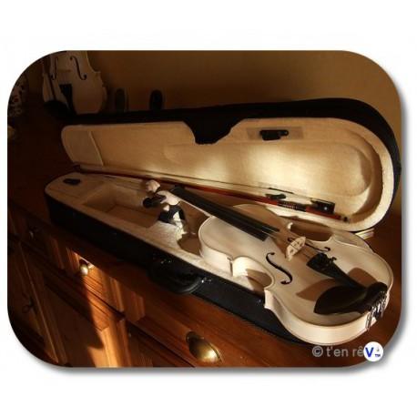 violon 1/4 sylvicole sans couleur bois brut