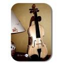 promo violon 4/4 sans couleur avec un simple vernis incolore brillant