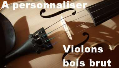 violons sylvicoles à personnaliser