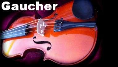 gamme de violons pour gauchers